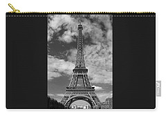 Architectural Standout Bw Carry-all Pouch by Ann Horn