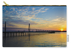 Carry-all Pouch featuring the photograph Magical Blue Skies by Dale Powell
