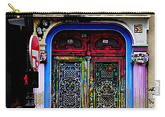 Artistic Door In Paris France Carry-all Pouch