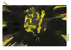 Carry-all Pouch featuring the painting Asian Sunflower by Joan Reese