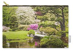 Asticou Azelea Garden - Northeast Harbor - Mount Desert Island - Maine Carry-all Pouch by Keith Webber Jr