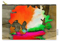 Austin Map Watercolor Carry-all Pouch