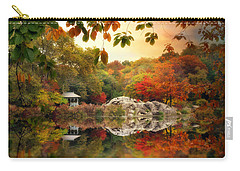 Autumn At Hernshead Carry-all Pouch by Jessica Jenney