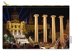 Barcelona By Night Carry-all Pouch