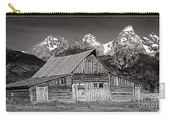 Barn And Tetons Carry-all Pouch by Jerry Fornarotto