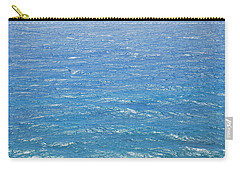 Carry-all Pouch featuring the photograph Blue Waters by George Katechis