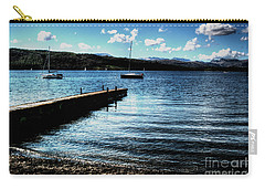 Carry-all Pouch featuring the photograph Boats In Wales by Doc Braham