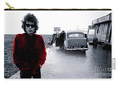Bob Dylan Carry-all Pouch by Marvin Blaine