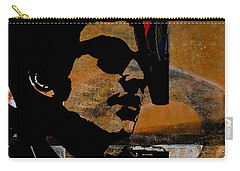 Bob Dylan Recording Session Carry-all Pouch by Marvin Blaine