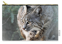 Carry-all Pouch featuring the photograph I Was Grooming by Elaine Malott