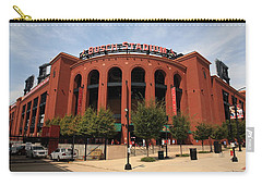 Busch Stadium - St. Louis Cardinals Carry-all Pouch by Frank Romeo