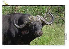 Cape Buffalo Carry-all Pouch by Tony Murtagh