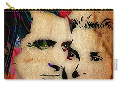 Cary Grant And Grace Kelly Collection Carry-all Pouch by Marvin Blaine