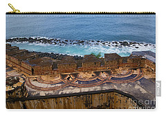 Carry-all Pouch featuring the photograph Castillo San Felipe Del Morro by Olga Hamilton