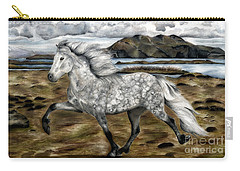 Charismatic Icelandic Horse Carry-all Pouch