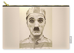 Vintage Charlie Chaplin Carry-all Pouch