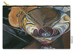 Chocolate Martini Carry-all Pouch by Debbie DeWitt