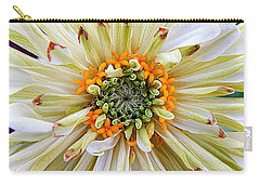 Chrysanthemum Fall In New Orleans Louisiana Carry-all Pouch by Michael Hoard