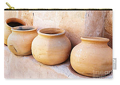 Clay Pots Carry-all Pouch by Kerri Mortenson