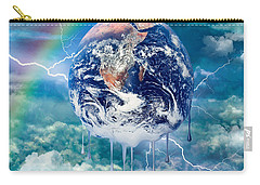 Climate Change Carry-all Pouch by Robert Orinski