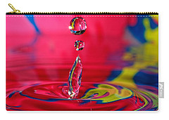 Colorful Water Drop Carry-all Pouch
