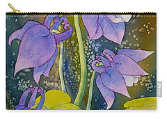 Columbine Carry-all Pouch by Teresa Ascone