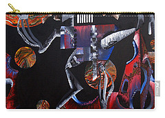 Carry-all Pouch featuring the painting Copernicasso by Ryan Demaree