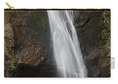 Courthouse Falls North Carolina Carry-all Pouch by Charles Beeler