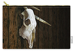 Cow Skull Carry-all Pouch