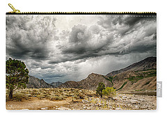 Dark Skies At Grant Lake Carry-all Pouch by Cat Connor