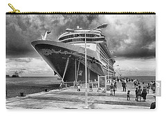 Carry-all Pouch featuring the photograph Disney Fantasy by Howard Salmon