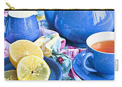 Do You Take Lemon? Carry-all Pouch by Theresa Tahara