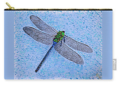Carry-all Pouch featuring the painting Dragonfly by Deborah Boyd