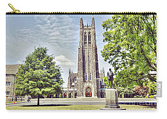 Duke Chapel In Spring Carry-all Pouch by Emily Kay
