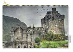 Eilean Donan Castle Carry-all Pouch by Juli Scalzi