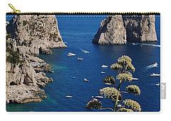 Faraglioni In Capri Carry-all Pouch