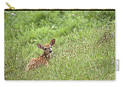 Fawn Carry-all Pouch by Jeannette Hunt