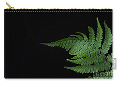 Carry-all Pouch featuring the photograph Fern II by Alana Ranney
