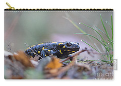 Fire Salamander - Salamandra Salamandra Carry-all Pouch
