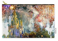 Fireworks Cinderellas Castle Walt Disney World Carry-all Pouch