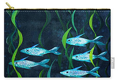 Fish Carry-all Pouch by Barbara Moignard