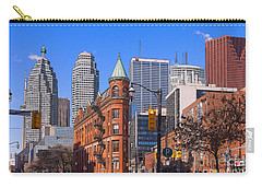 Flatiron Building In Toronto Carry-all Pouch