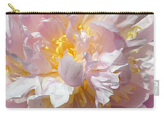 Carry-all Pouch featuring the photograph Flirtatious Pink by Lilliana Mendez