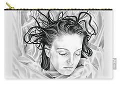 Forget Me Not - Laura Palmer - Twin Peaks Carry-all Pouch by Fred Larucci