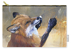 Fox Dances For Hummingbird Carry-all Pouch