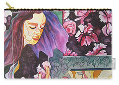 Garden Secrets Carry-all Pouch by Diana Bursztein
