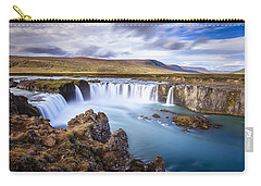 Godafoss Waterfall Carry-all Pouch