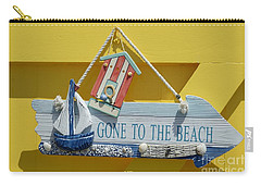Gone To The Beach Carry-all Pouch