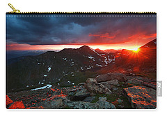 Goodnight Kiss Carry-all Pouch by Jim Garrison