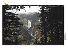 Grand Canyon Of The Yellowstone-signed Carry-all Pouch